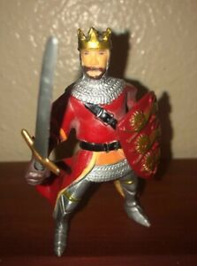 "Papo Royal King Richard/Knight Collectible Action Figure 3"" 2000"