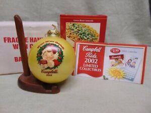 Campbells Soup 2002 Collectors Edition Ball Ornament NIB