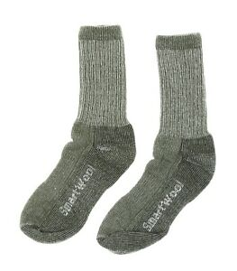 Smartwool Kids Hike Medium Cushioned Crew Socks in Sage 44336 Size Large