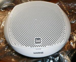 "NEW Exterior Marine Speaker; White; Dual Cone High Performance; 7 1/2""   DMP67"