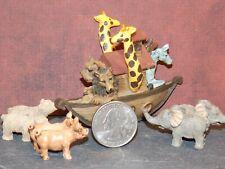 Dollhouse Miniature Noah's Ark Play Set Animal 1:12 scale Dollys Gallery G13