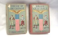 Rare Brave Old Salt & Cruise Of The Cachalot Antique Collectible Books