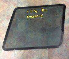window glass cargo rh landrover discovery 1991-98 series 1