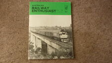 OLD AUSTRALIAN RAILWAY ENTHUSIAST MAGAZINE, JUNE 1980