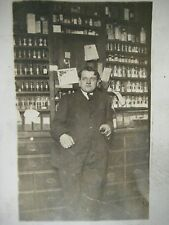 Antique 1900's RPPC Apothecary Pharmacist CYKO Real Photo Postcard