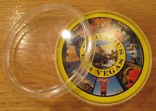 VINTAGE FABULOUS LAS VEGAS CASINO ROUND DECK PLAY CARDS FLAMINGO GOLDEN NUGGET +