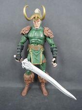 Marvel Legends Walmart Exclusive Loki Comic Version loose figure WITH THOR SWORD