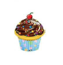 Party Supplies Birthday Decorations Frosted Cupcake Shape Foil Balloon 90cm