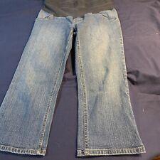 Womens Maternity Capri Jeans Size M