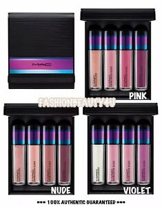 MAC Holiday Lip Gloss Set - 4 Cremesheen Glass / Dazzleglass 💯 Choose Color NEW