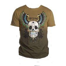 Shiroi Neko Minute Mirth T Shirt Skull Clown Gr.L Farbe braun-S01