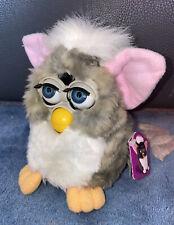 FURBY Baby aus 1998 ☆ORIGINAL 1.Generation Spielzeug Rosa Sammlerstück☆ETIKETT
