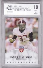 2012 Leaf Young Stars Football Card #31 Dont'a Hightower Rookie - BCCG Graded 10