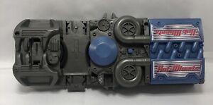 2002 Mattel Hot Wheels Power Booster Car Launcher Model 2159DP Tested Blue Gray