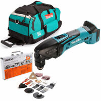 Makita DTM50 18v Oscillating Multi Tool With LXT600 Bag & 34 Pc Accessories