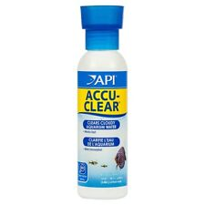 API ACCU-CLEAR 118mL Clears Cloudy Aquarium Water Fish Tank
