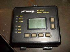 BANNER SC22-3 SAFETY CONTROLLER  (P3)