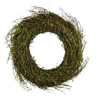 Kranz 39 cm Deko Türkranz Weidenkranz, Frühling Ostern grün Kunstpflanze