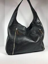 Michael Kors Black Leather Shoulder Bag Extra Large Hobo Handbag