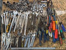 Mechanic Machinist Tools Lot Mostly USA - Craftsman Cornwall Wizard W183