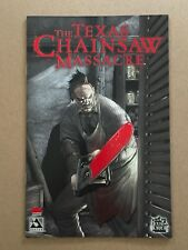 TEXAS CHAINSAW MASSACRE SPECIAL #1 BLOOD RED CONVENTION FOIL VARIANT AVATAR COA