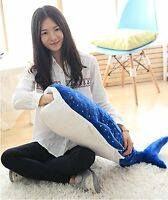 39'' Big Whale Shark Stuffed Animal Plush Toy Soft Plushies Doll Pillow gift hot