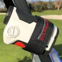 Bushwhacker Magnetic Range Finder Holder for Golf Cart Railing Strap Mount Case