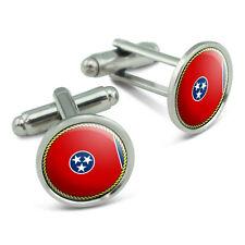 Cufflinks Cuff Links Set Tennessee State Flag Men's