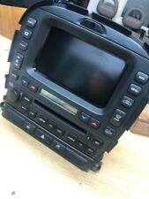 JAGUAR S-TYPE SAT NAV HEAD UNIT CD RADIO & CODE WITH HEATER PANEL 2R83-10E889-AH
