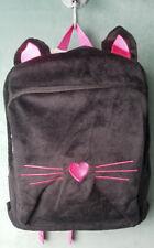 CAPELLI OF NEW YORK Soft Boa Black Cat Backpack