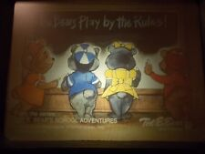 Ted E. Bear School Adventures, Bears Play By The Rules filmstrip / tape Fun