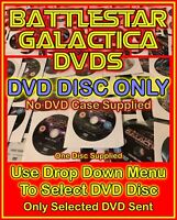 Battlestar Galactica DVDs - DVD DISC ONLY - NO DVD CASES -  (Select Item)