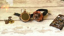 Steampunk Cosplay Aviator Costume Retro Octopus Womens goggles accessory gift