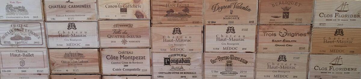 Wein- und Champagner Kisten