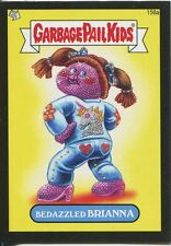 Garbage Pail Kids Mini Cards 2013 Black Parallel Base Card 156a Bedazzled BRIANN
