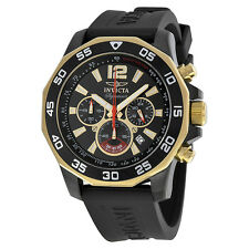 Invicta 7434 Signature II Nautical Chronograph Black Dial Men's Watch