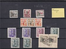 0442 Spain ( Civil war) 1937 Malaga MNH/MH Nice lot of stamps see scan