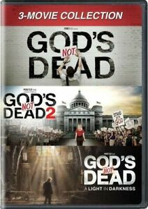 GOD'S NOT DEAD: 3 -MOVIE COLLECTION NEW DVD