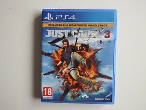Just Cause 3 on PS4 in MINT Condition