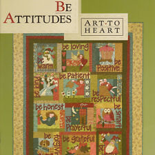 BE ATTITUDES Nancy Halvorsen Quilt Applique NEW BOOK