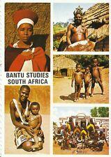 South Africa Postcard - Bantu Seen in Natural Habitat - South Africa  AB67