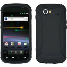 AMZER SILICONE SOFT SKIN CASE COVER + SCREEN GUARD FOR SPRINT SAMSUNG NEXUS S 4G