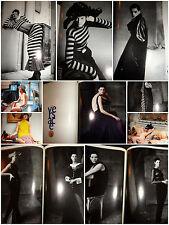 Kristen McMenamy vintage fashion clipping lot 1993 1991 Vogue Italia Versace ads