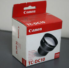 New Canon Tele-Converter Lens TC-DC10 for S60 S70 S80