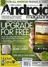 ANDROID MAGAZINE,FOR ALL ANDROID PHONES & TABLETS, NO. 10 ( UPGRADE FOR FREE )