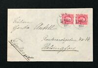 Postal History Sweden, Cover from Lund Sweden to Helsingfors Finland, 1901