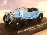 IXO 1/43 CHENARD-WALCKER #9 WINNER 1ST LE MANS 1923 A.LAGACHE/R.LEONARD LM1923