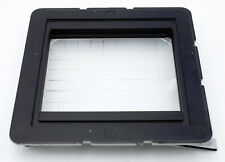 CAMBO CALUMET 4X5 CAMERA BACK WITH GROUND GLASS