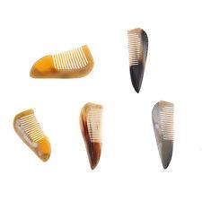 18~20cm Natural Ox Horn Comb Scalp Massage Handmade Hair Brush Comb Health Care