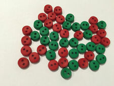 Christmas Theme/ Round Craft Buttons